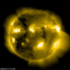 SOHO EIT 284 image of the sun