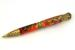 Dragon Antique Brass Twist Pen w/ Vivid Jester Acrylester Body